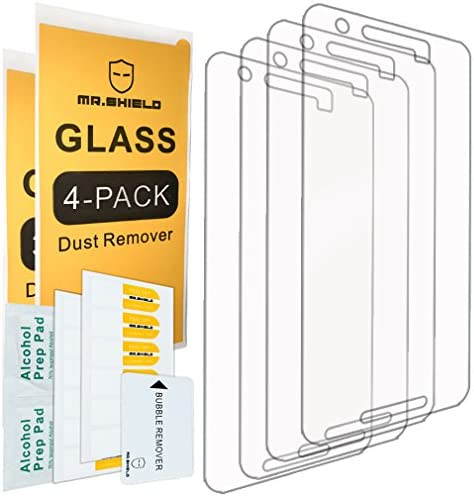4 Pack Mr Shield for Huawei Google Nexus 6P 2015 Newest Tempered Glass Screen Protector Japan product image