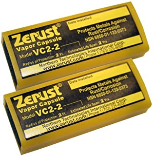 Zerust VC2-2 NoRust Vapor Capsule - Pack of 2