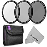 58MM Altura Photo Professional Photography Filter Kit (UV, CPL Polarizer, Neutral Density ND4) for Camera Lens with 58MM Filter Thread + Filter Pouch