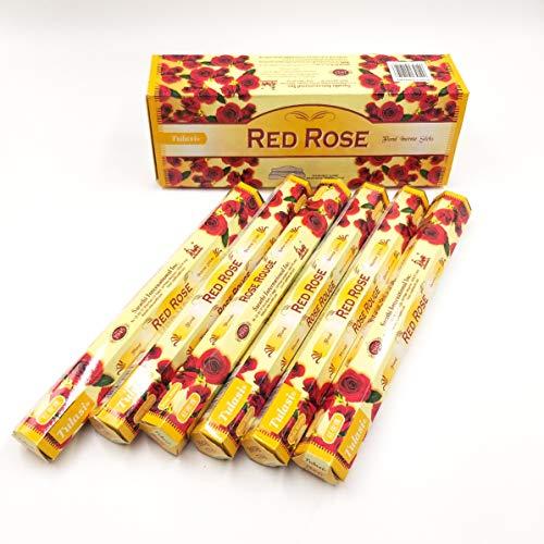 varitas de incienso de (RED ROSE) ROSA ROJA varitas de incienso de joss 120 varillas de incienso de...