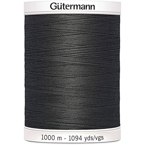 Gutermann Coudre Tous Les Fil de Polyester, 1000 Mtr, Fer Gris foncé (0036),