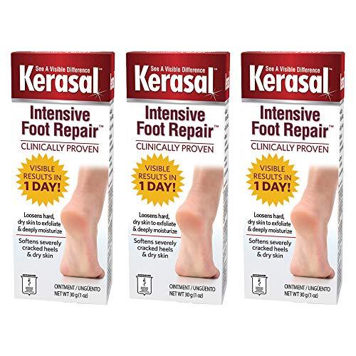 Kerasal Intensive Foot Repair Ointment 1 oz (Pack of 3)