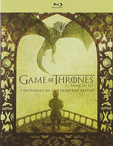 Game of Thrones (Le Trône de Fer) - Saison 5 [Francia] [Blu-ray]