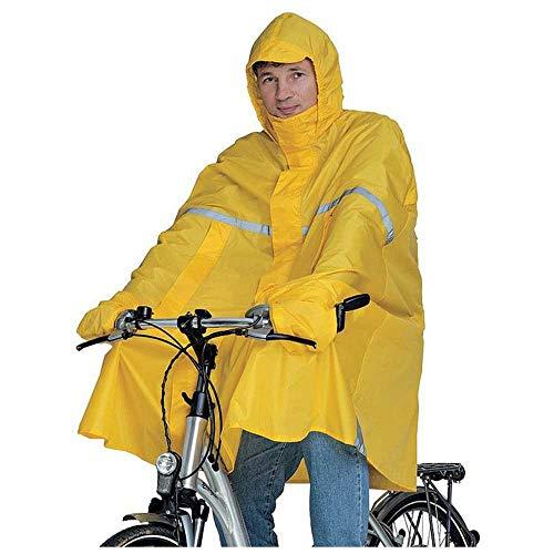 Hock Pioggia Abbigliamento Adulti Pioggia Poncho Super Perfekto, Unisex, Regenponcho Super Perfekto, Signalgelb, XXL