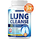 Lung Cleanse - Helps to Quit Smoking & Supports Respiratory Health - Effective Lung Detox - Made in...