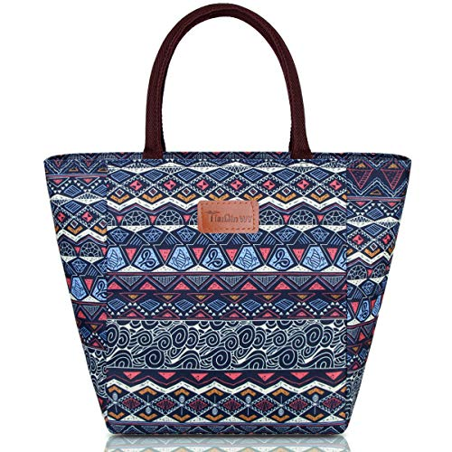TianQin WY Lunch Bag for Women Insulated Lunch Tote with Large Capacity(G-199L National)