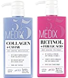 Best Body Lotion For Crepe Skins - Medix 5.5 Retinol Cream and Collagen Cream Set Review