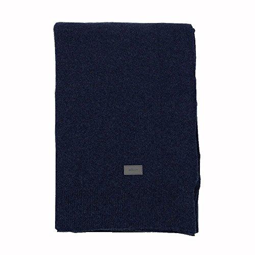 GANT Home Flow Knit Plaid 130x180 Yankee Blue