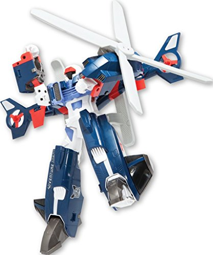 Youngtoys Tobot Adventure Y Transforming Robot Helicopter to Robot Animation Character