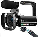 MELCAM Videocamera UHD 2.7K Camcorder 36MP Vlogging Youtube...