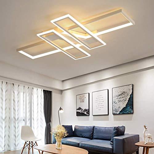 Moderna lámpara LED de techo para salón, regulable, pantalla de acrílico, de...