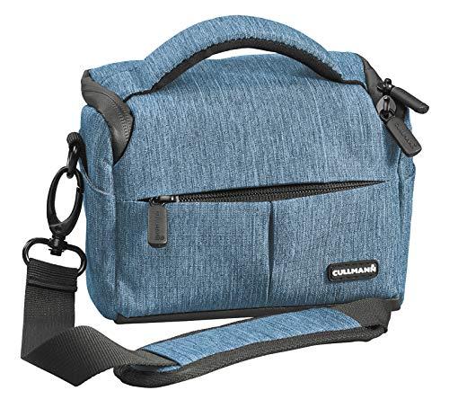 Cullmann Malaga Vario 200 90283 - Funda para cámara con Correa, Color Azul
