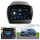 ACEOLT Android 9.1 Auto Stereo 1080P HD Touchscreen Multimedia Player für Hyundai IX35 2010-2015, WiFi/GPS/FM/Bluetooth Autoradio und Mirror Link Navigationssystem