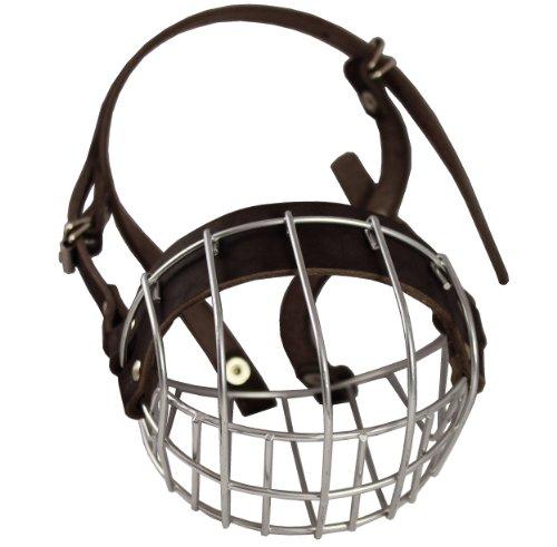Metal Wire Basket Dog Muzzle Boxer, Bulldog Female. Circumference 13',...