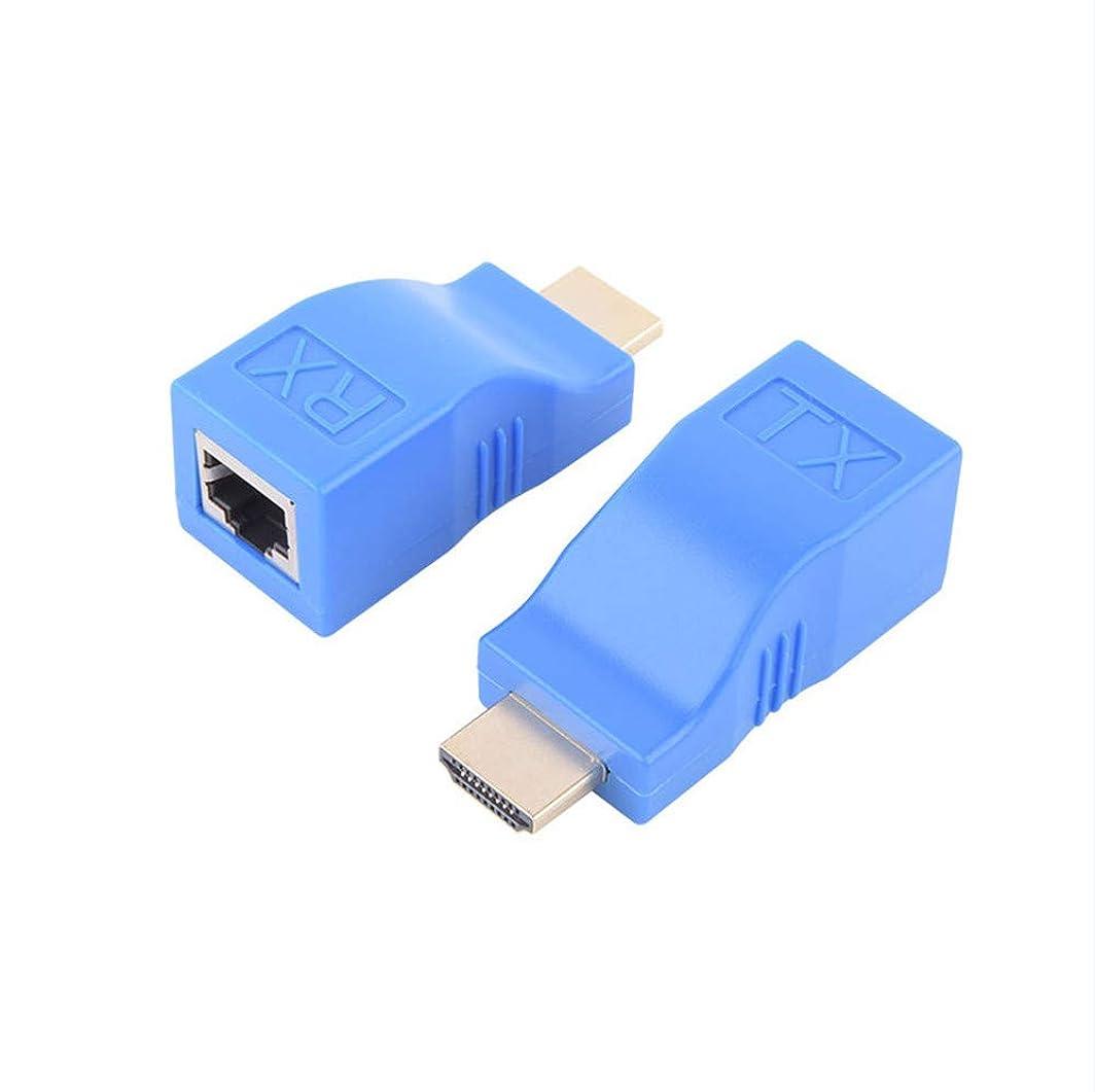 扱いやすい前述のガスパッシブHDMIシングルケーブル30メートルエクステンダーサポート1080P、の165MHz / 165GbpsチャンネルHDMIケーブルエクステンダー