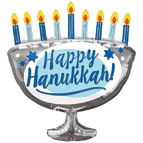 Happy Hanukkah! Menorah 29' Foil Party Balloon
