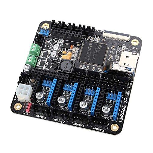 Twp 3d imprimante carte mère Lerdge Tableau avec bras Thermistor 32-bit DIY Kit de contrôleur avec 8,9cm TFT écran tactile