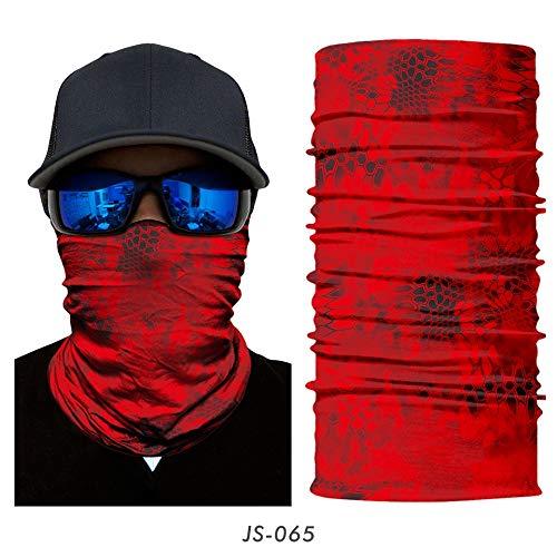 XCLWL Multifunctionele doek Camouflage Seamless Gaiter Shield Fietsen Vis Militair leger tactische bandana bivakmuts sjaal