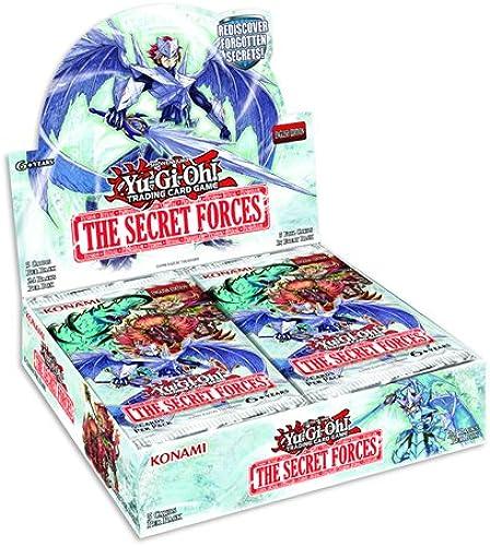 al precio mas bajo Yu-Gi-Oh  - Caja de de de cartas coleccionables de The Secret Forces de Yu-Gi-Oh  (contenido en inglés)  tiendas minoristas