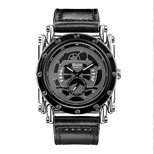 YIBOKANG Reloj De Regalo Personalizado Impermeable para Hombre De Engranaje Creativo De Ocio para Hombre (Color : 2)