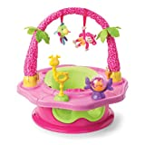 Summer 3-Stage SuperSeat Deluxe Giggles Island Positioner, Booster and Activity Seat for Girl