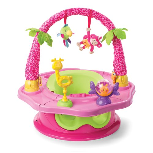 Sale!! Summer 3-Stage SuperSeat Deluxe Giggles Island Positioner, Booster and Activity Seat for Girl
