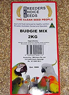 Breeders Choice Premium Budgie Seed Mix (2kg) Budgies Bird Food