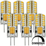 MENGS 6 pezzi Dimmerabile G4 3W Lampadine a...