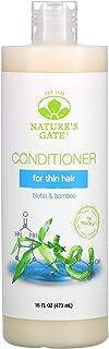 Nature's Gate Biotin & Bamboo Conditioner for Thin Hair, 16 fl oz (473 ml)