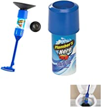 Shopo Plumber'S Hero Kit - Unclog Drains Instantly - 20 Uses In Every Can