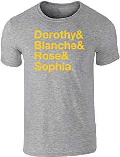 Dorothy & Blanche & Rose & Sophia. Graphic Tee T-Shirt for Men