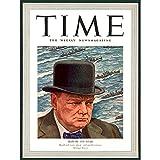 Wee Blue Coo Magazine War 1941 Winston Churchill 'Man of