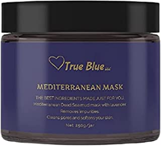 Dead Sea Mud Mask with Lavender   Clean Beauty Organic Skincare for Face and Body   Cleans Pores Purifies Skin Moisturizes...