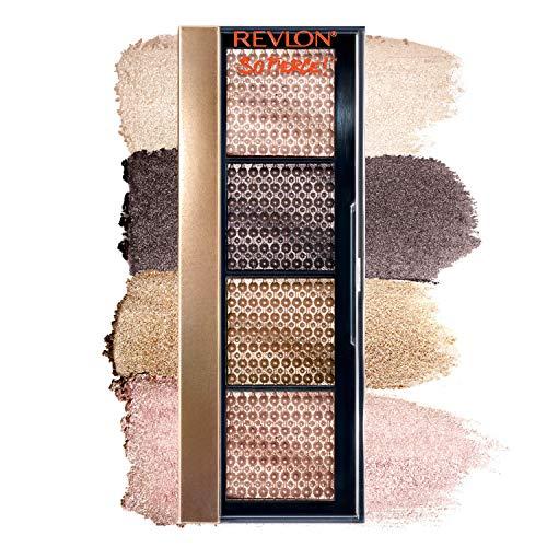 REVLON So Fierce! Prismatic Eyeshadow Palette, Creamy Pigmented Eye Makeup in Blendable Matte & Pearl Finishes, 961 That's A Dub, 0.21 oz.