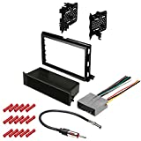 CACHÉ KIT1040 Bundle with Car Stereo Installation Kit for 2007 – 2010 Ford Edge – in Dash Mounting Kit, Antenna, Harness for Single or Double Din Radio Receivers (4 Item)