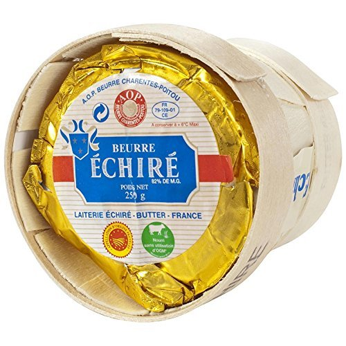 NEW French Echire Butter, Unsalted - pack of 2 - 8.8 oz each BUY 2 and SAVE