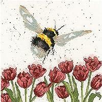 数字油絵 フレームレス 、数字キット塗り絵 手塗り DIY-大人の初心者の子供-ミツバチは蜜を集める-40x50 cm