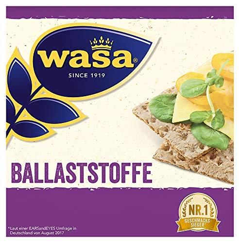 Wasa Knäckebrot Fit & Vital Ballaststoffe, 6er Pack (6 x 230 g)
