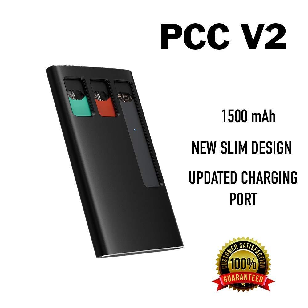 Jmate PCC V2 Nuevo - Estuche de Carga Portátil con Batería Integrada de 1500mAh para Recargar JUUL Vaporizadores y Guardar 3 Pods de eCig: Amazon.es: Electrónica