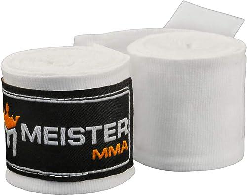 BOXRAW Vendas De Boxeo Profesionales 3m Bolsa De Transporte /& Correas de Goma Gratis 4.5m Vendas el/ásticas para Adultos de Boxeo MMA