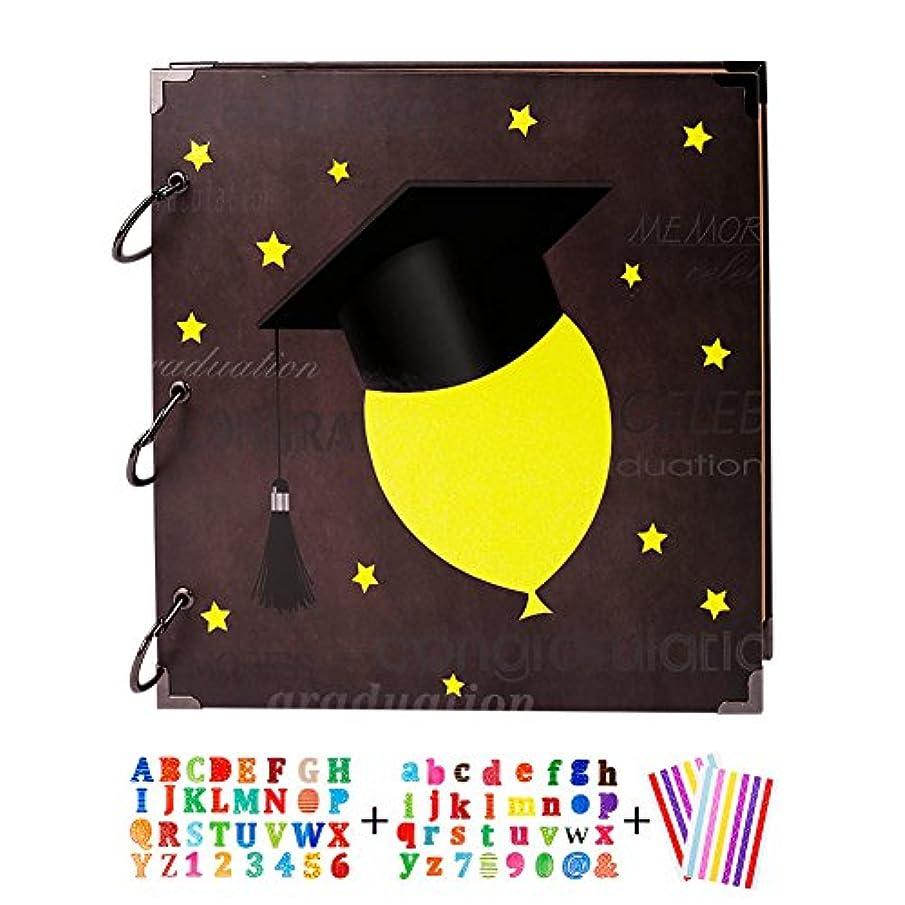 SICOHOME Scrapbook,Graduation Scrapbook Ablum,Personalize Graduate Message Book,10.5