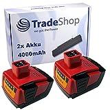 2 x batería li-ion de alto rendimiento, 14,4 V 4000 mAh para Hilti SF 144 A SF144-A SF 144 A SFH 144 A SFH 144 A SFH 144 A SFL SID 144 A SID144 la ziv 144 A SIW144-A CPC 14.4 V A Hilti B144 B-144