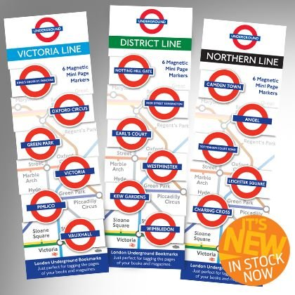 That Company Called If 98103 London Underground Mini-Magnetic Bookmark - District