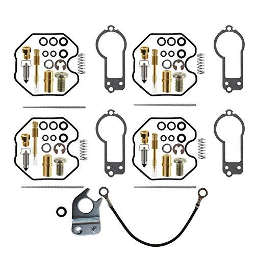 WFLNHB 4X Carb Carburetor Rebuild Repair Kit for 1977-1978 Honda CB750F / 1978 CB750K