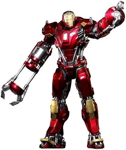 Hot Toys Power Pose Series - Iron Man 3  Mark XXXV rot Snapper