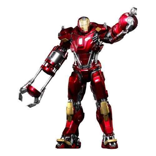 Iron Man - Figura Red Snapper Mark 35 (Hot Toys 902042)