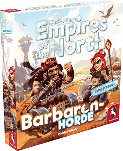 Pegasus Spiele 51974G - Empires of the North: Barbaren-Horde [Erweiterung]
