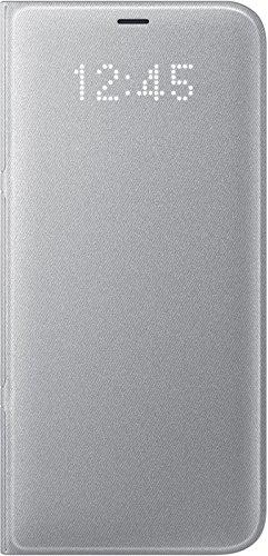 Samsung Led View, Funda para smartphone Samsung Galaxy S8 Plus, Plateado