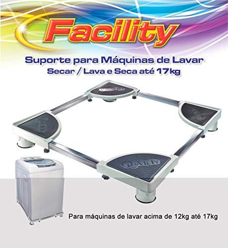 Suporte Para Maquina De Lavar Facility 17 Kg