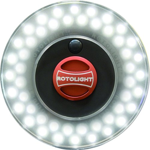 Rotolight RL48-B Stealth HD - Anillo de luz LED para cámaras